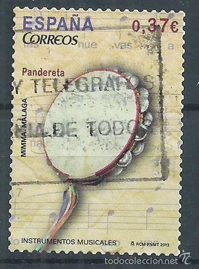 R10/ ESPAÑA USADOS 2013, INSTRUMENTOS MUSICALES (Sellos - España - Juan Carlos I - Desde 2.000 - Usados)
