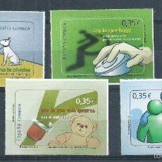 Sellos: R10/ ESPAÑA EN NUEVO** 2011, EDF. 4639/42, VALORES CIVICOS. Lote 61159815