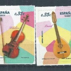 Sellos: R10/ ESPAÑA EN NUEVO** 2011, EDF. 4628/31,INSTRUMENTOS MUSICALES. Lote 61189271