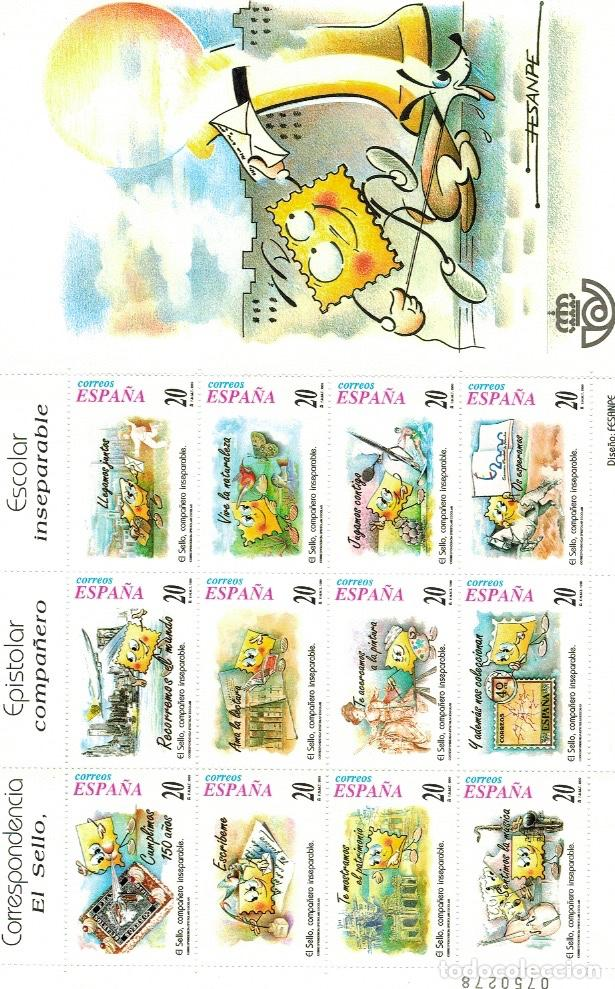 Sellos: Series completas del año 1999, dos enteros postales (sobres), tres pruebas de lujo del año 1999 - Foto 3 - 61538140