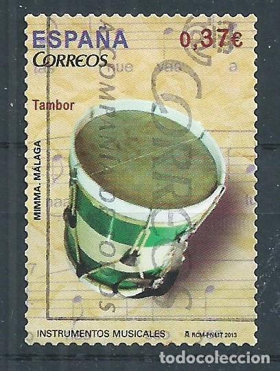 R10/ ESPAÑA USADOS 2013, EDF. 4782, INSTRUMENTOS MUSICALES (Sellos - España - Juan Carlos I - Desde 2.000 - Usados)