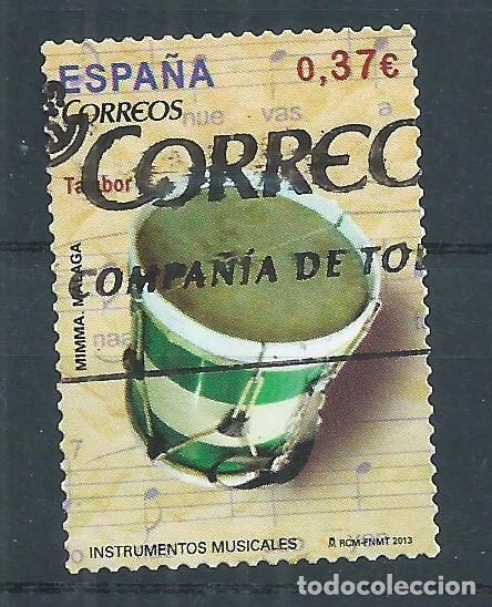 R10/ ESPAÑA USADOS 2013, EDF. 4781, INSTRUMENTOS MUSICALES (Sellos - España - Juan Carlos I - Desde 2.000 - Usados)