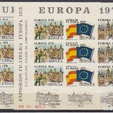Sellos: XI FERIA NACIONAL DEL SELLO-MADRID. EUROPA-78. Lote 62330784