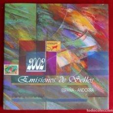 Sellos: CORREOS EMISION DE SELLOS ESPAÑA - ANDORRA 2002 NUEVO. Lote 62534636