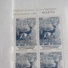 Briefmarken - ESPAÑA EDIFIL 3455 AÑO 1996 BLOQUE 2X2 NUEVO - 62998168