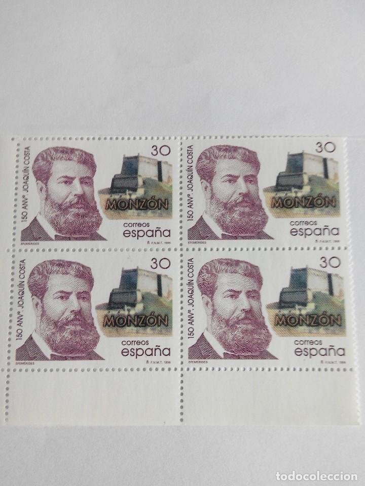 ESPAÑA EDIFIL 3446 AÑO 1996 BLOQUE 2X2 NUEVO (Sellos - España - Juan Carlos I - Desde 1.986 a 1.999 - Nuevos)