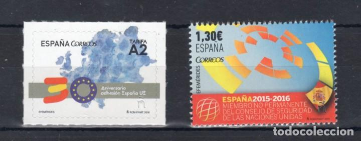 AÑO 2016 EFEMERIDES** (Sellos - España - Juan Carlos I - Desde 2.000 - Nuevos)