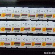 Sellos: ESPAÑA 1992 ATMS ETIQUETAS KLÜSSENDORF CAPITAL EUROPEA DE CULTURA MADRID YVERT Nº 8 ** MNH. Lote 63770115