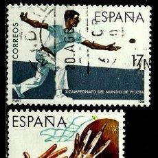 Sellos: ESPAÑA 1986- EDI 2850/52 (SERIE-DEPORTES) USADOS. Lote 63778762