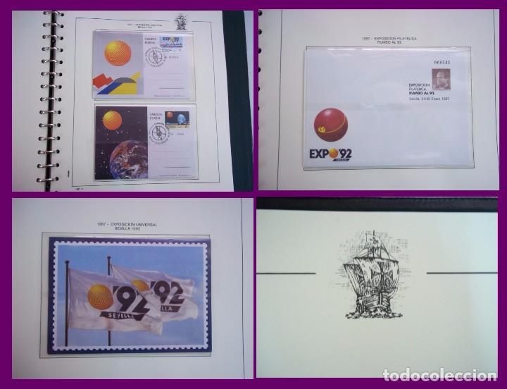 Sellos: ALBUM COMPLETO SELLOS ESPAÑA BLOQUE DE CUATRO AÑO 1987 CON 4 PRUEBAS OFICIALES - Foto 7 - 63805263