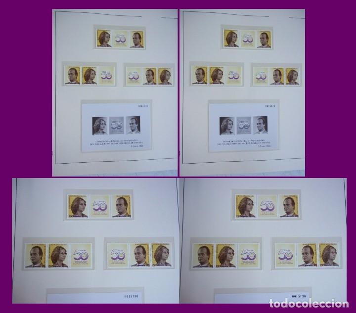 Sellos: ALBUM COMPLETO SELLOS ESPAÑA BLOQUE DE CUATRO AÑO 1987 CON 4 PRUEBAS OFICIALES - Foto 8 - 63805263