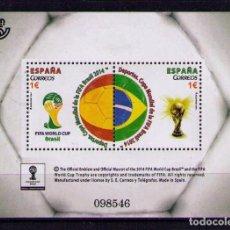 Sellos: ESPAÑA 2014 - COPA MUNDIAL DE FUTBOL BRASIL 2014 - EDIFIL Nº 4890. Lote 143141236