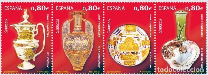 ESPAÑA 2011 - CERAMICA - EDIFIL Nº 4660-4663 (Sellos - España - Juan Carlos I - Desde 2.000 - Nuevos)