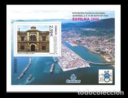 ESPAÑA 2006 - EXFILNA 2006 - ALGECIRAS (CADIZ) - EDIFIL Nº 4236 (Sellos - España - Juan Carlos I - Desde 2.000 - Nuevos)