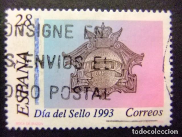 ESPAÑA 1993 DÍA DEL SELLO JOURNÉE DU TIMBRE EDIFIL Nº 3243 º FU YVERT Nº 2836 º FU (Sellos - España - Juan Carlos I - Desde 1.986 a 1.999 - Usados)