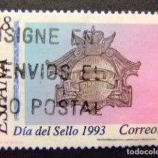 Sellos: ESPAÑA 1993 DÍA DEL SELLO JOURNÉE DU TIMBRE EDIFIL Nº 3243 º FU YVERT Nº 2836 º FU. Lote 64419015