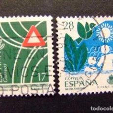 Sellos: ESPAÑA 1993 SERVICIOS PUBLICOS EDIFIL Nº 3237 +3238 º FU YVERT Nº 2842 + 2832 º FU. Lote 64419663