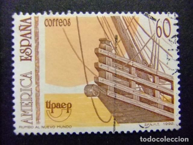 ESPAÑA 1992 AMERICA UPAEP EDIFIL Nº 3223 º FU YVERT Nº 2819 º FU (Sellos - España - Juan Carlos I - Desde 1.986 a 1.999 - Usados)