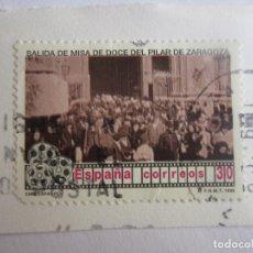 Sellos: SELLO DE ESPAÑA DE 30 PESETAS.CINE ESPAÑOL.SALIDA DE MISA DE DOCE DEL PILAR DE ZARAGOZA. 1996. Lote 65114251