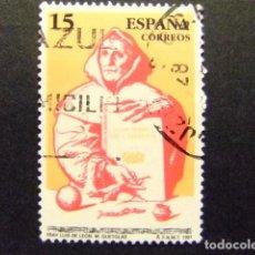Sellos: ESPAÑA ESPAGNE 1991 FRAY LUIS DE LEÓN EDIFIL 3119 FU YVERT 2723 FU. Lote 202771970