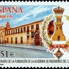 Sellos: ESPAÑA 2003 - ACADEMIA DE INGENIEROS DEL EJERCITO - EDIFIL Nº 4019. Lote 143918562