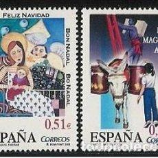 Sellos: ESPAÑA 2003 - NAVIDAD - EDIFIL Nº 4031-4032. Lote 162753742