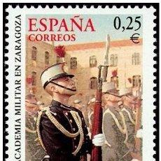 Sellos: ESPAÑA 2002 - ACADEMIA MILITAR DE ZARAGOZA - EDIFIL Nº 3886. Lote 143918597