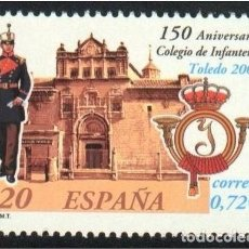 Sellos: ESPAÑA 2001 - INFANTERIA DE TOLEDO - EDIFIL Nº 3778. Lote 143918468