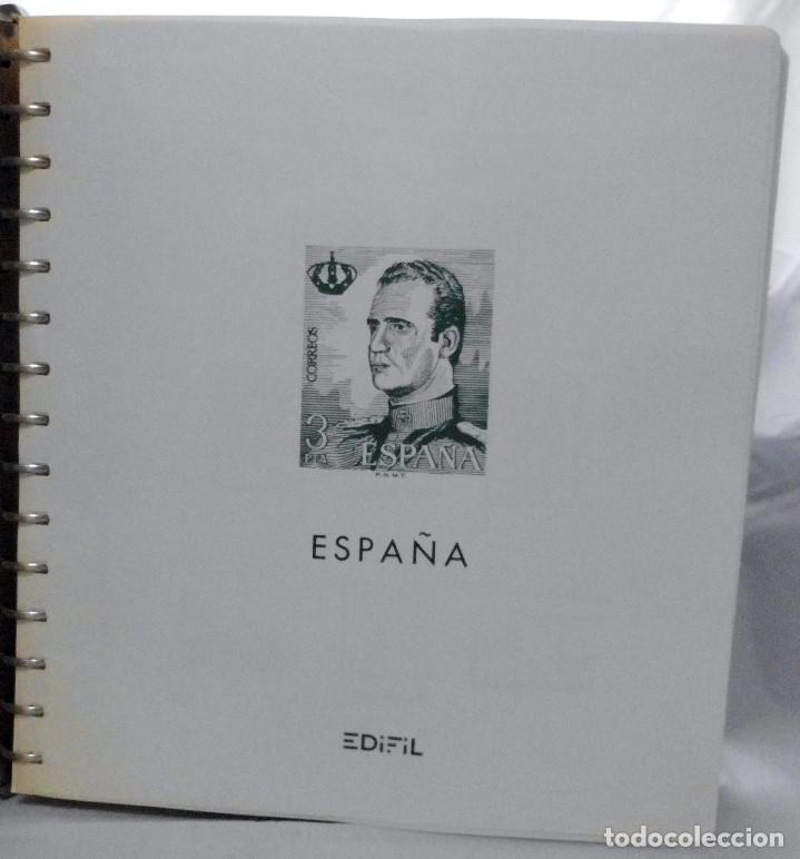 Sellos: ESPAÑA 1974 A 1986 y 1987 A 1994, ALBUM DE SELLOS, NUEVOS SIN FIJASELLOS ** - Foto 2 - 66483470