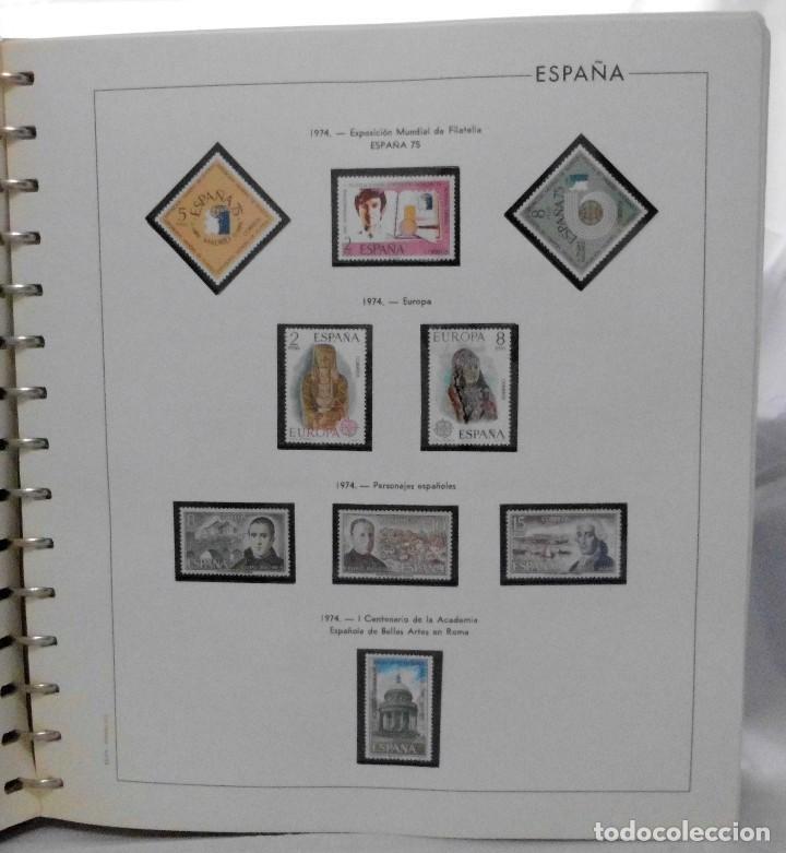 Sellos: ESPAÑA 1974 A 1986 y 1987 A 1994, ALBUM DE SELLOS, NUEVOS SIN FIJASELLOS ** - Foto 4 - 66483470