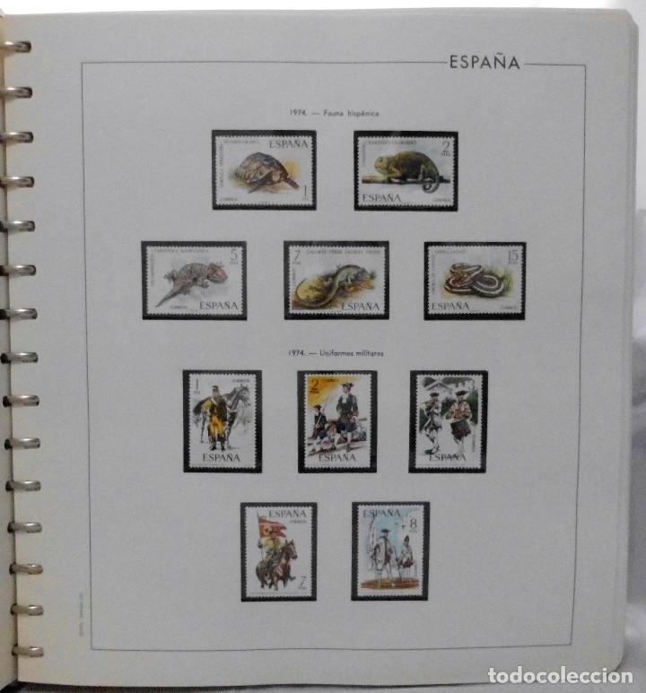 Sellos: ESPAÑA 1974 A 1986 y 1987 A 1994, ALBUM DE SELLOS, NUEVOS SIN FIJASELLOS ** - Foto 6 - 66483470
