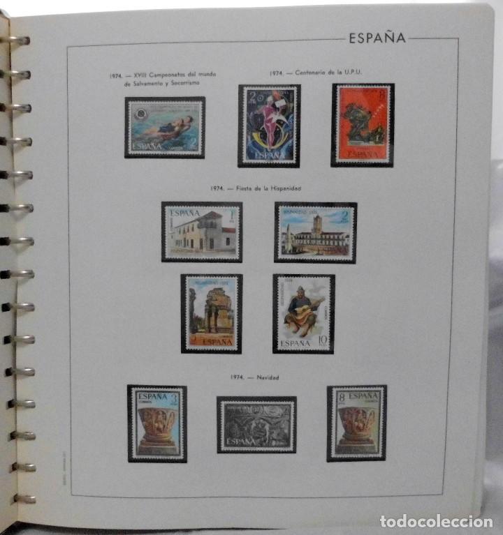 Sellos: ESPAÑA 1974 A 1986 y 1987 A 1994, ALBUM DE SELLOS, NUEVOS SIN FIJASELLOS ** - Foto 8 - 66483470
