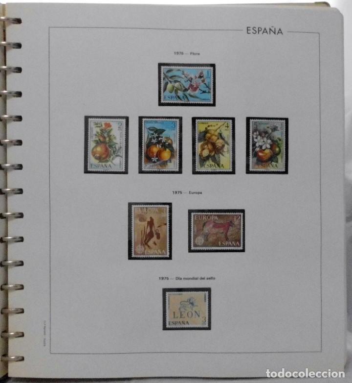 Sellos: ESPAÑA 1974 A 1986 y 1987 A 1994, ALBUM DE SELLOS, NUEVOS SIN FIJASELLOS ** - Foto 13 - 66483470