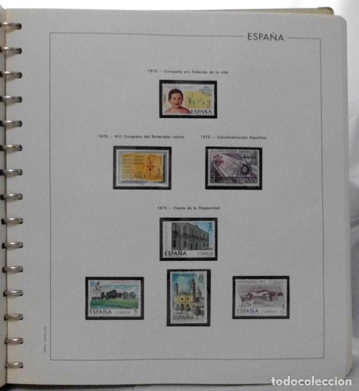 Sellos: ESPAÑA 1974 A 1986 y 1987 A 1994, ALBUM DE SELLOS, NUEVOS SIN FIJASELLOS ** - Foto 17 - 66483470