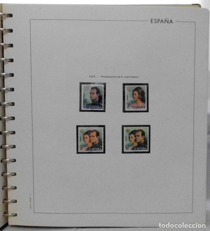 Sellos: ESPAÑA 1974 A 1986 y 1987 A 1994, ALBUM DE SELLOS, NUEVOS SIN FIJASELLOS ** - Foto 19 - 66483470