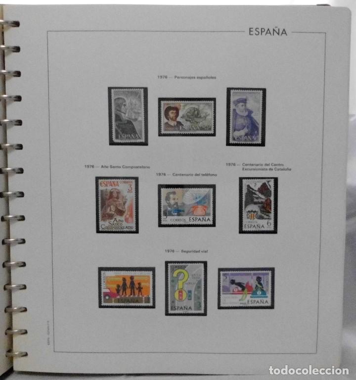 Sellos: ESPAÑA 1974 A 1986 y 1987 A 1994, ALBUM DE SELLOS, NUEVOS SIN FIJASELLOS ** - Foto 20 - 66483470