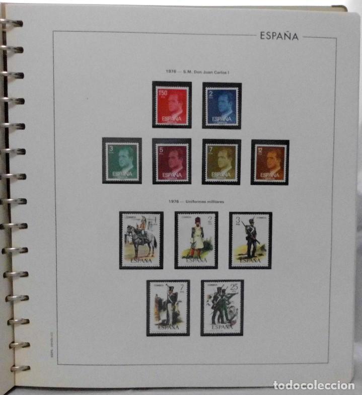 Sellos: ESPAÑA 1974 A 1986 y 1987 A 1994, ALBUM DE SELLOS, NUEVOS SIN FIJASELLOS ** - Foto 24 - 66483470