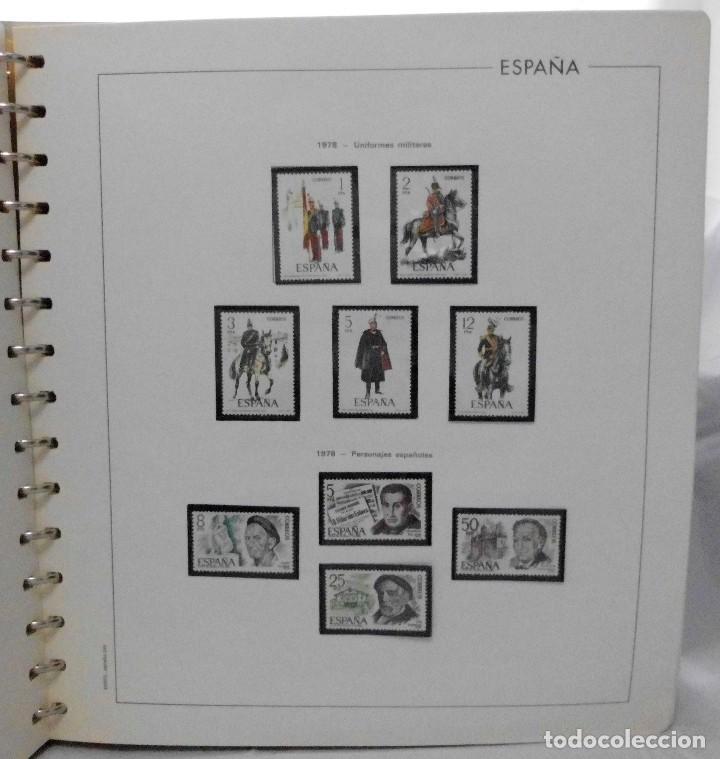 Sellos: ESPAÑA 1974 A 1986 y 1987 A 1994, ALBUM DE SELLOS, NUEVOS SIN FIJASELLOS ** - Foto 37 - 66483470