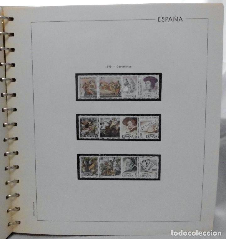 Sellos: ESPAÑA 1974 A 1986 y 1987 A 1994, ALBUM DE SELLOS, NUEVOS SIN FIJASELLOS ** - Foto 38 - 66483470