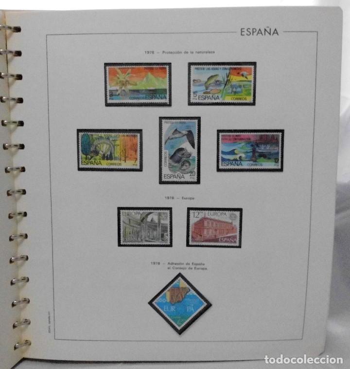 Sellos: ESPAÑA 1974 A 1986 y 1987 A 1994, ALBUM DE SELLOS, NUEVOS SIN FIJASELLOS ** - Foto 39 - 66483470