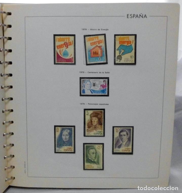 Sellos: ESPAÑA 1974 A 1986 y 1987 A 1994, ALBUM DE SELLOS, NUEVOS SIN FIJASELLOS ** - Foto 45 - 66483470
