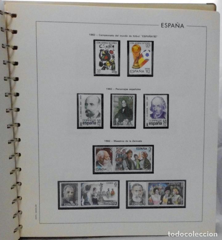 Sellos: ESPAÑA 1974 A 1986 y 1987 A 1994, ALBUM DE SELLOS, NUEVOS SIN FIJASELLOS ** - Foto 63 - 66483470