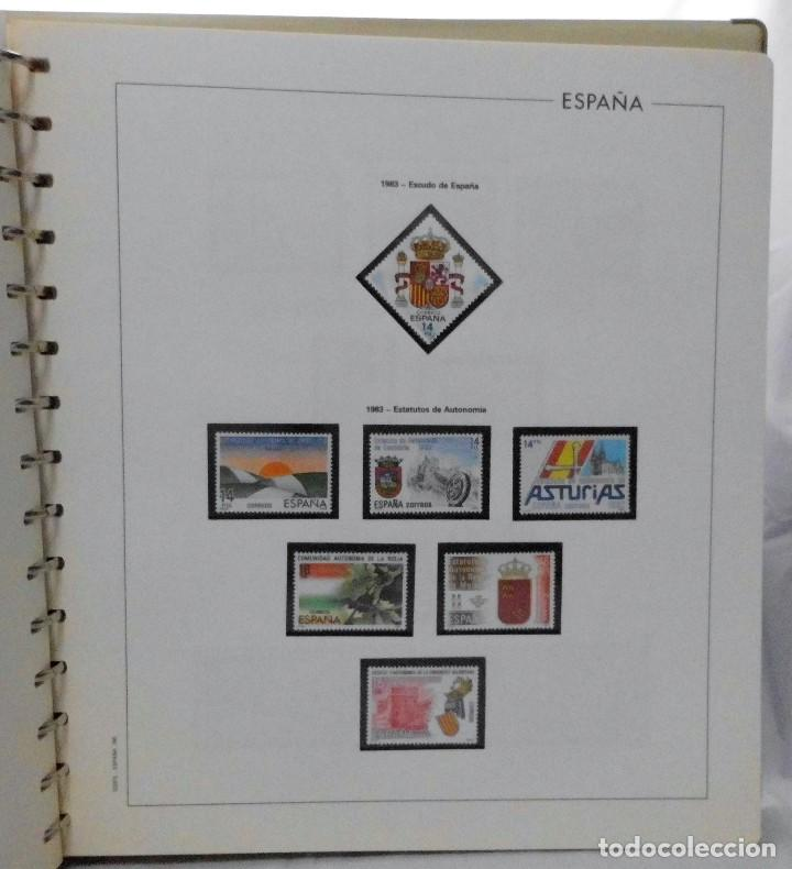 Sellos: ESPAÑA 1974 A 1986 y 1987 A 1994, ALBUM DE SELLOS, NUEVOS SIN FIJASELLOS ** - Foto 72 - 66483470
