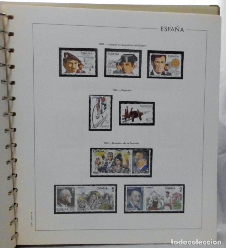 Sellos: ESPAÑA 1974 A 1986 y 1987 A 1994, ALBUM DE SELLOS, NUEVOS SIN FIJASELLOS ** - Foto 73 - 66483470