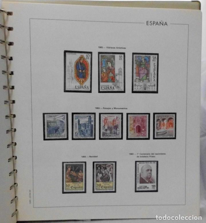Sellos: ESPAÑA 1974 A 1986 y 1987 A 1994, ALBUM DE SELLOS, NUEVOS SIN FIJASELLOS ** - Foto 76 - 66483470