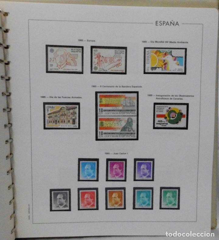 Sellos: ESPAÑA 1974 A 1986 y 1987 A 1994, ALBUM DE SELLOS, NUEVOS SIN FIJASELLOS ** - Foto 90 - 66483470