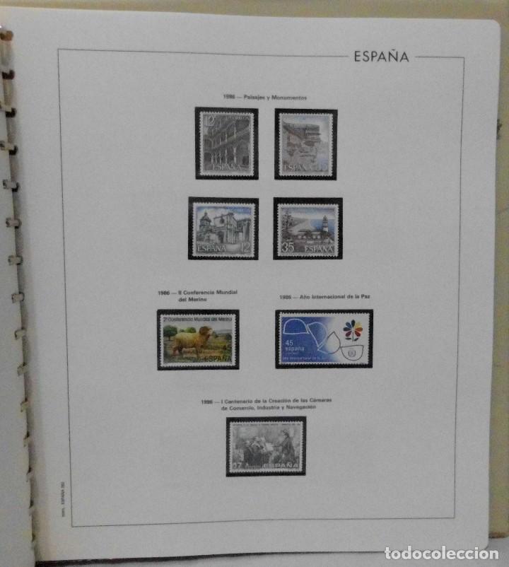 Sellos: ESPAÑA 1974 A 1986 y 1987 A 1994, ALBUM DE SELLOS, NUEVOS SIN FIJASELLOS ** - Foto 97 - 66483470
