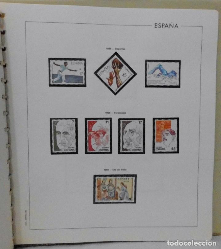 Sellos: ESPAÑA 1974 A 1986 y 1987 A 1994, ALBUM DE SELLOS, NUEVOS SIN FIJASELLOS ** - Foto 99 - 66483470
