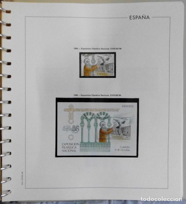 Sellos: ESPAÑA 1974 A 1986 y 1987 A 1994, ALBUM DE SELLOS, NUEVOS SIN FIJASELLOS ** - Foto 100 - 66483470