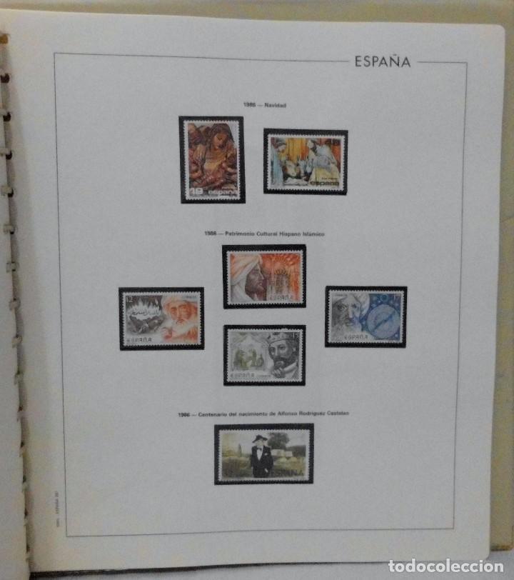 Sellos: ESPAÑA 1974 A 1986 y 1987 A 1994, ALBUM DE SELLOS, NUEVOS SIN FIJASELLOS ** - Foto 102 - 66483470